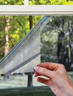 Mirror foil for windows