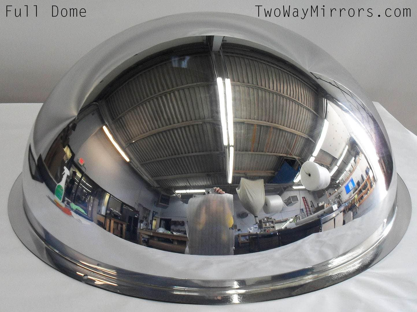 18″ Diameter Full Dome Two Way Mirror
