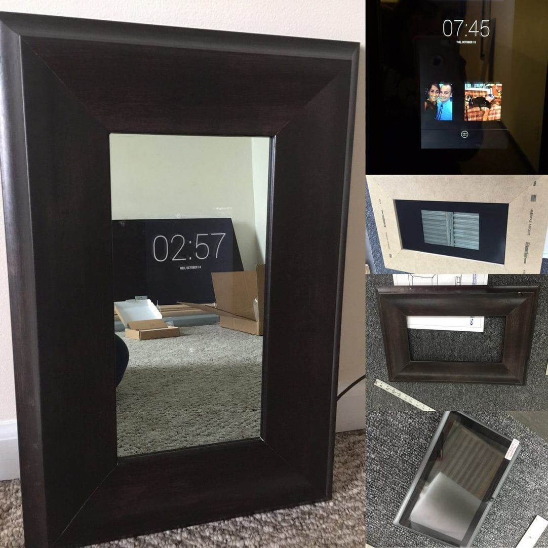 Smart Mirror Tablet Hidden Television Smart Magic Mirror
