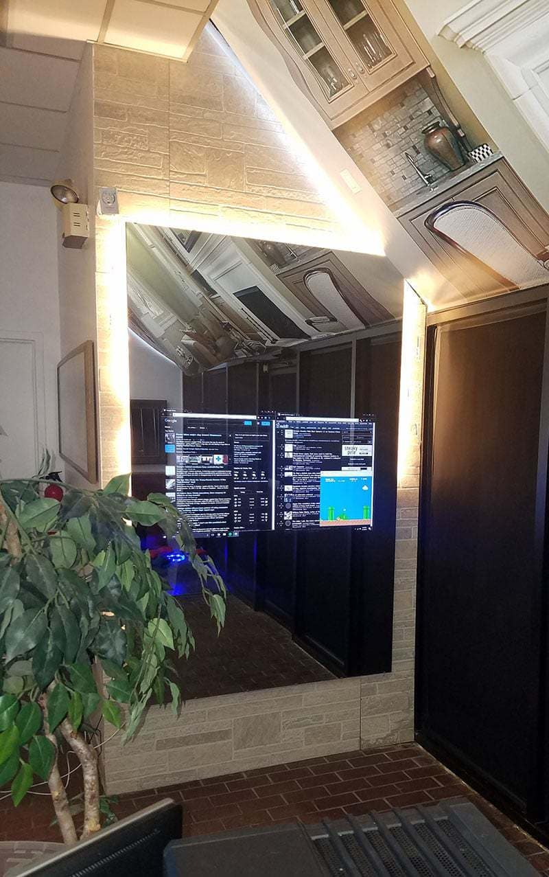 smart mirror technology