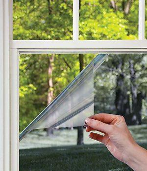 two way mirror window film