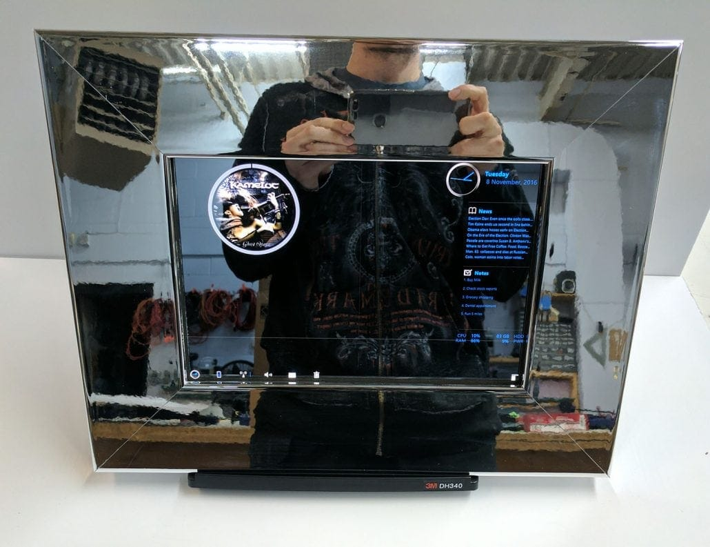 chrome smart mirror