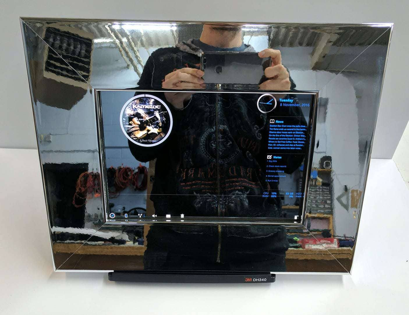 Chrome Smart Mirror For TabPro S