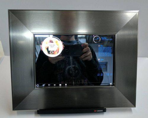 stainless steel smart mirror