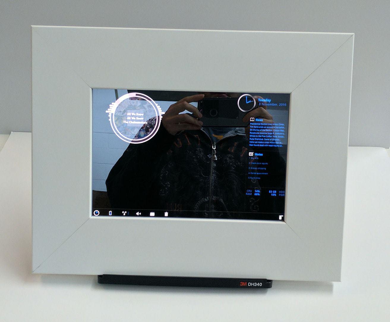 White Satin Smart Mirror For TabPro S