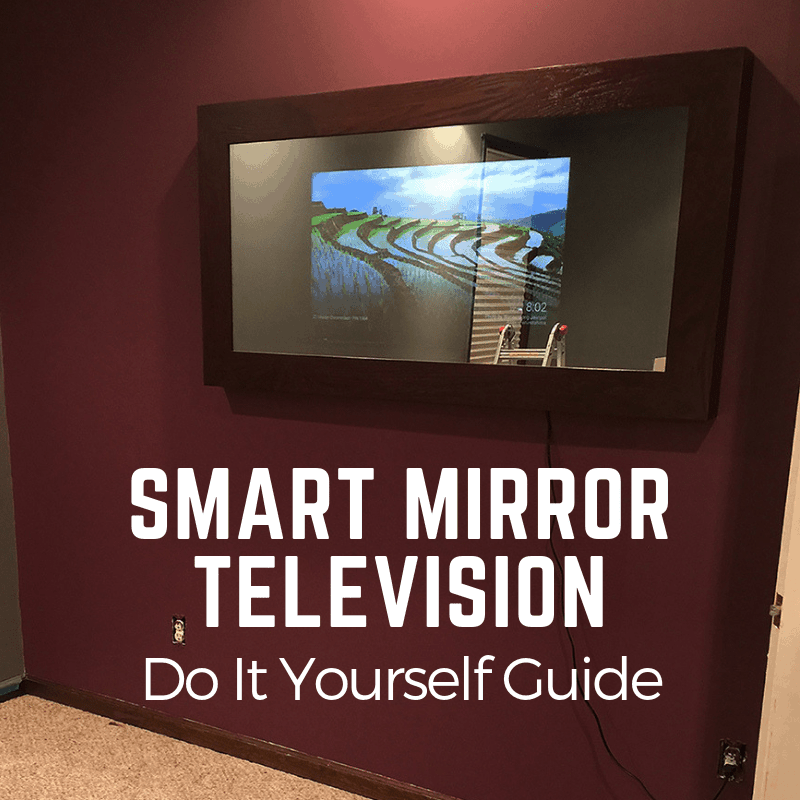 Make A Mirror Tv Fast Easy Instructions