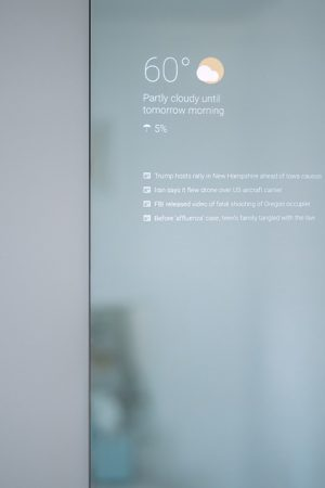 Max Braun Smart Mirror Display