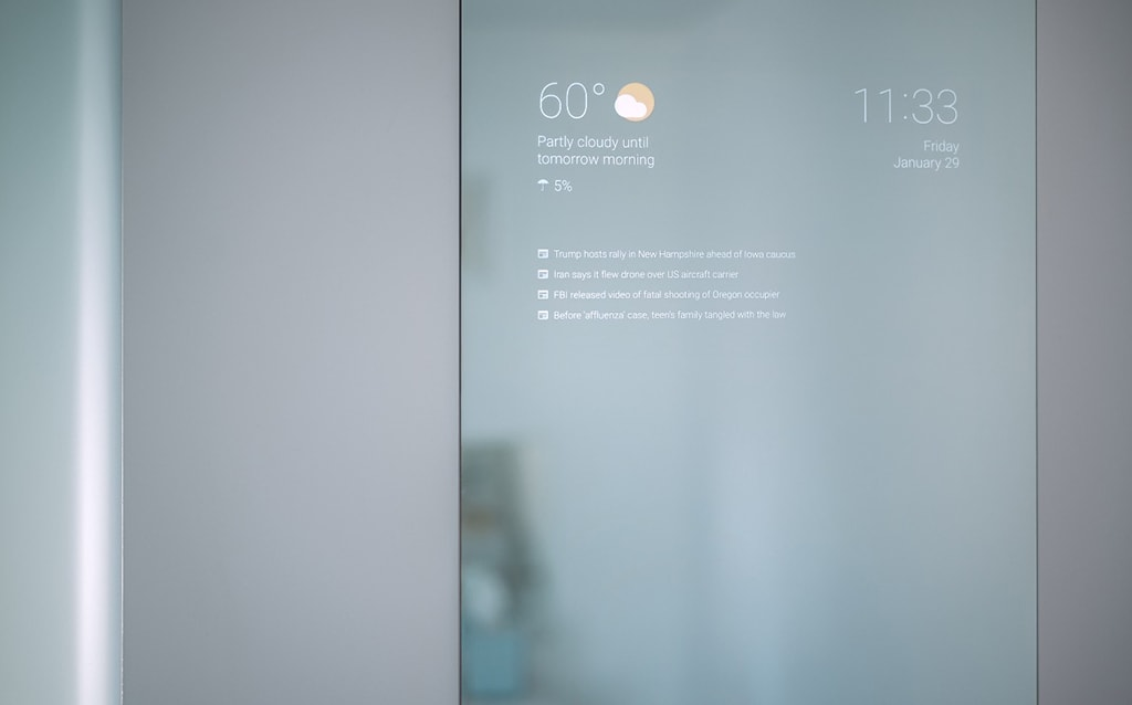 Large Max Braun Smart Mirror