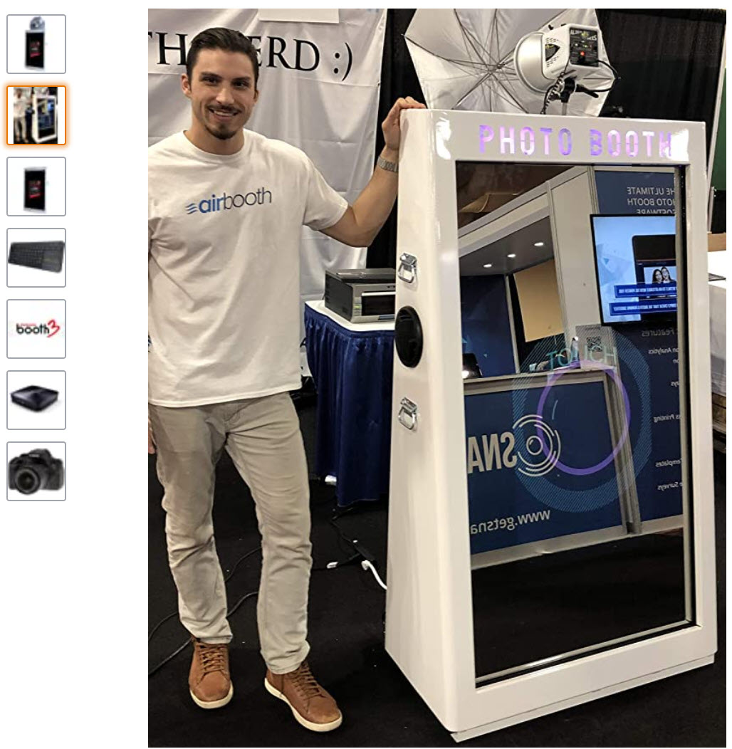 airbooth mirror photo booth