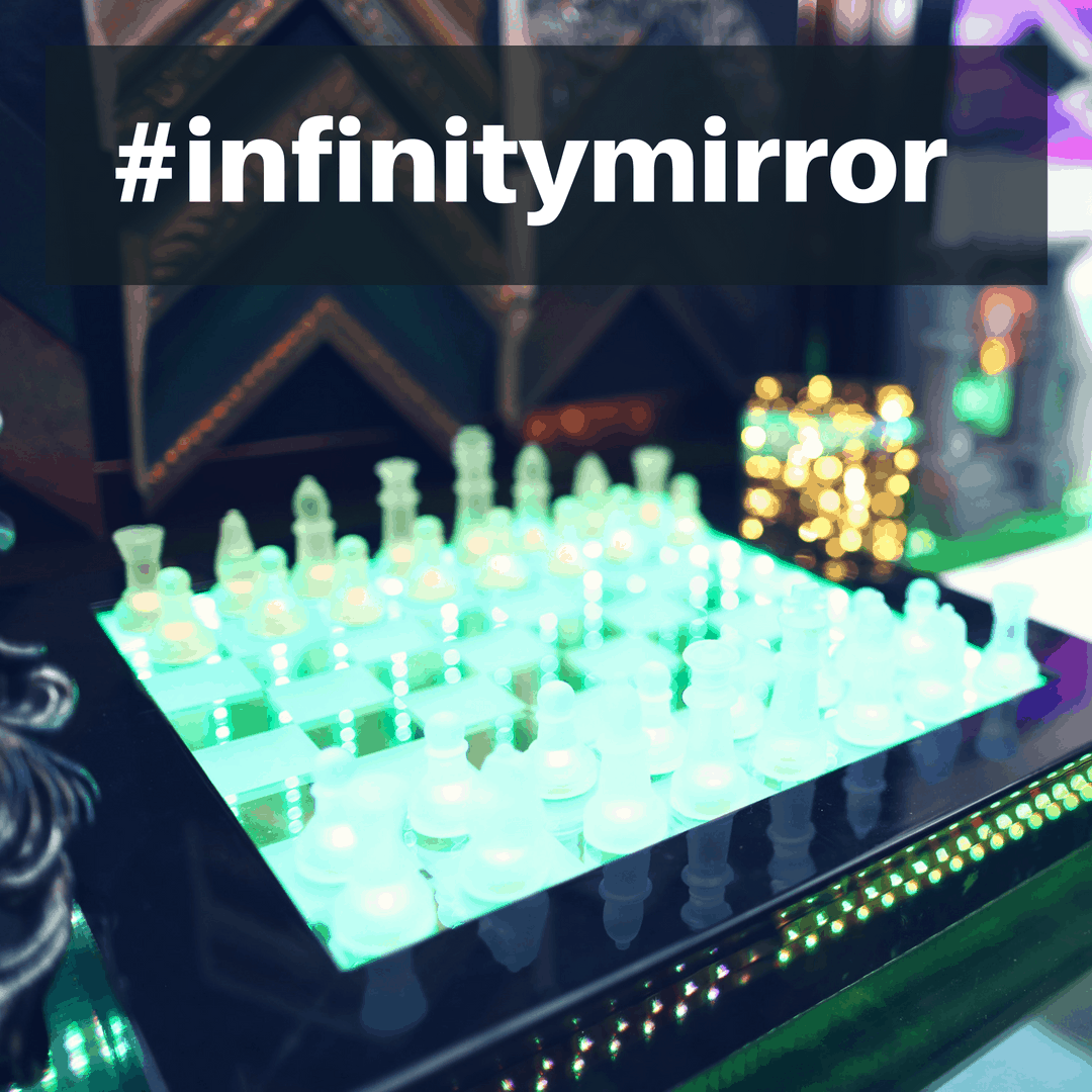 Infinity Mirror: Using Different Mirror Types For Cool Effects