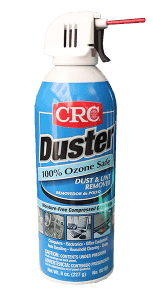 crc duster for acrylic dusting