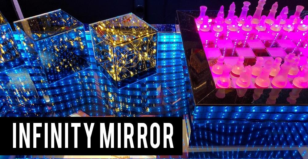 Infinity Mirror Illusion