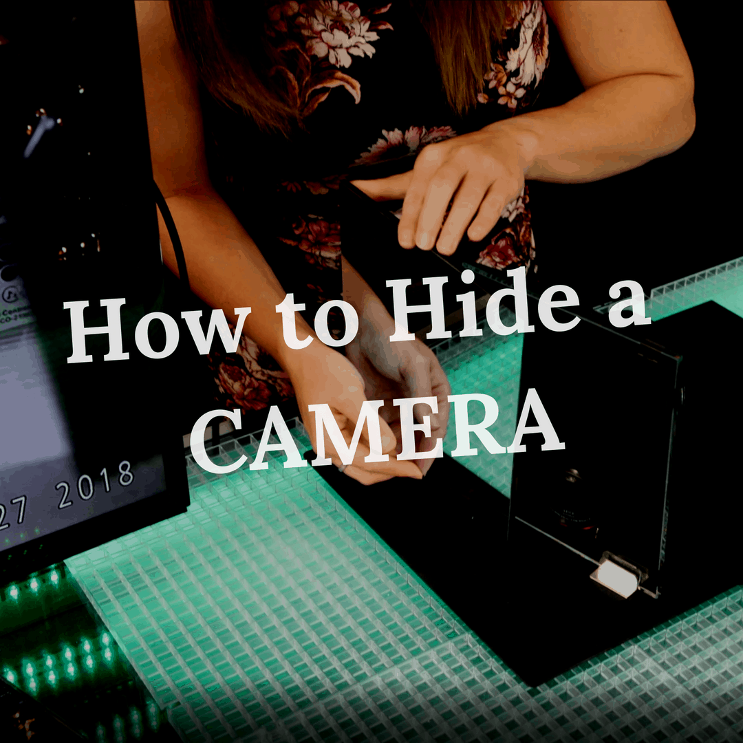 how to hide camera with mirror