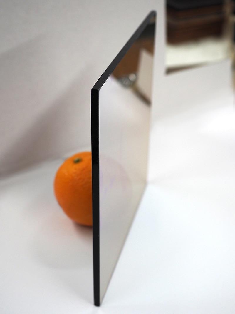 twowaymirror side view example orange