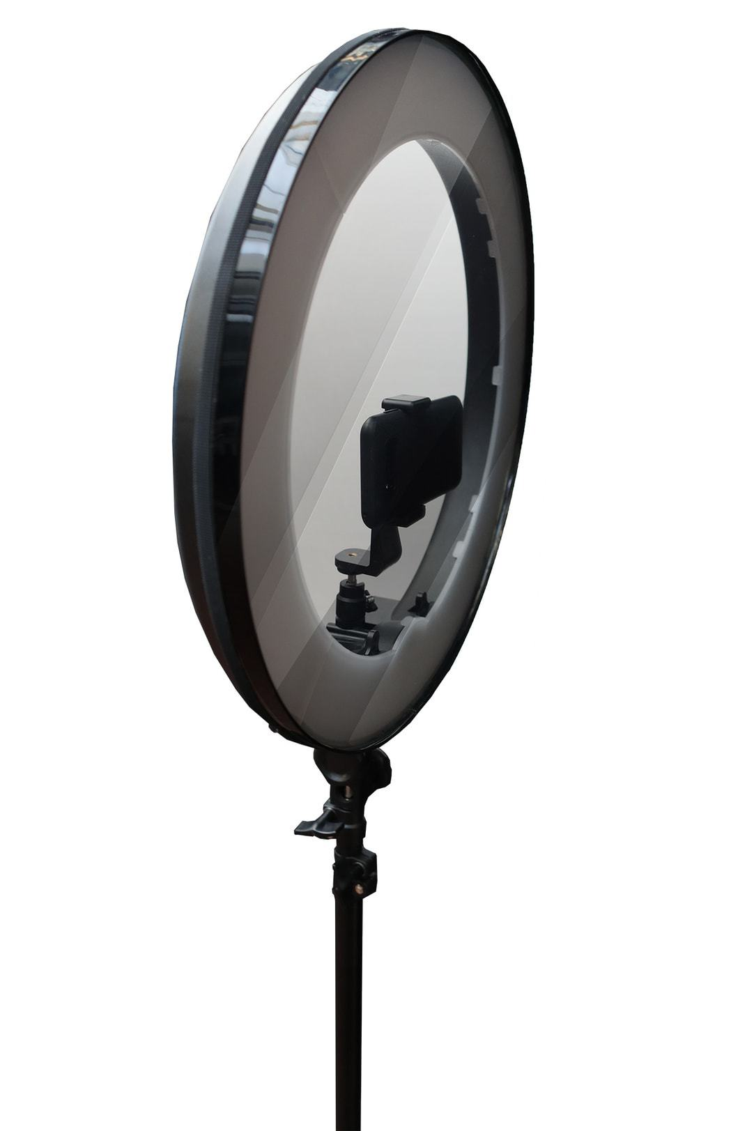 halo teleprompter mirror with mirror