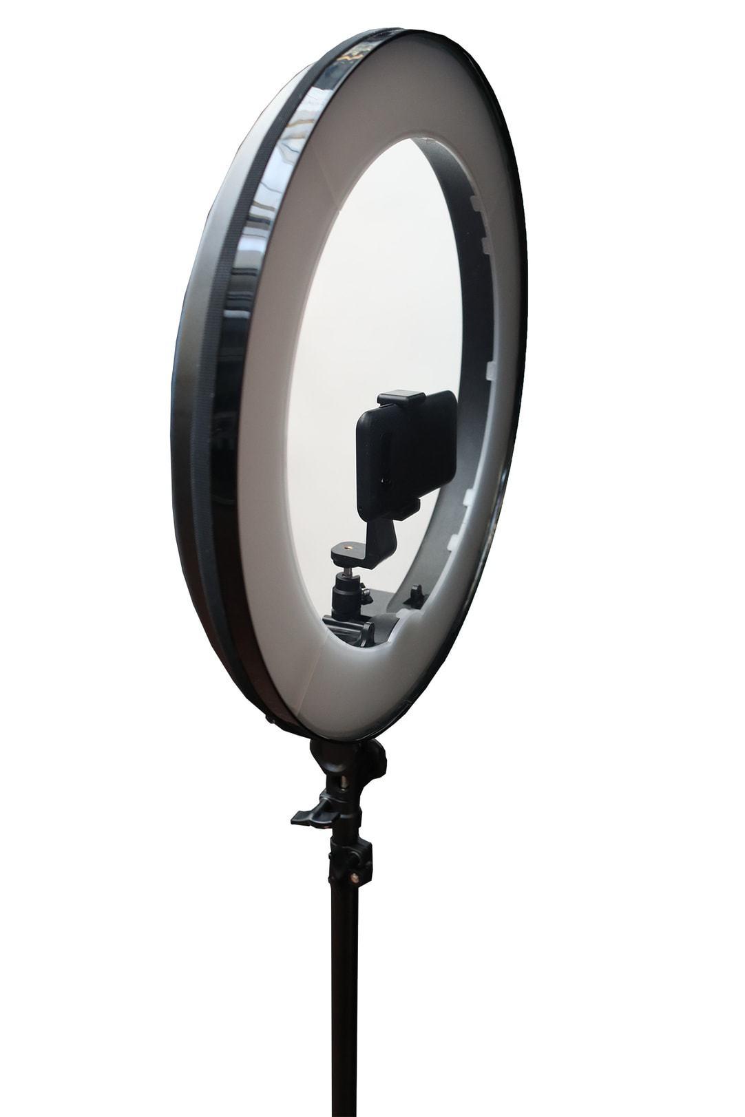 18″ Teleprompter Halo Mirror