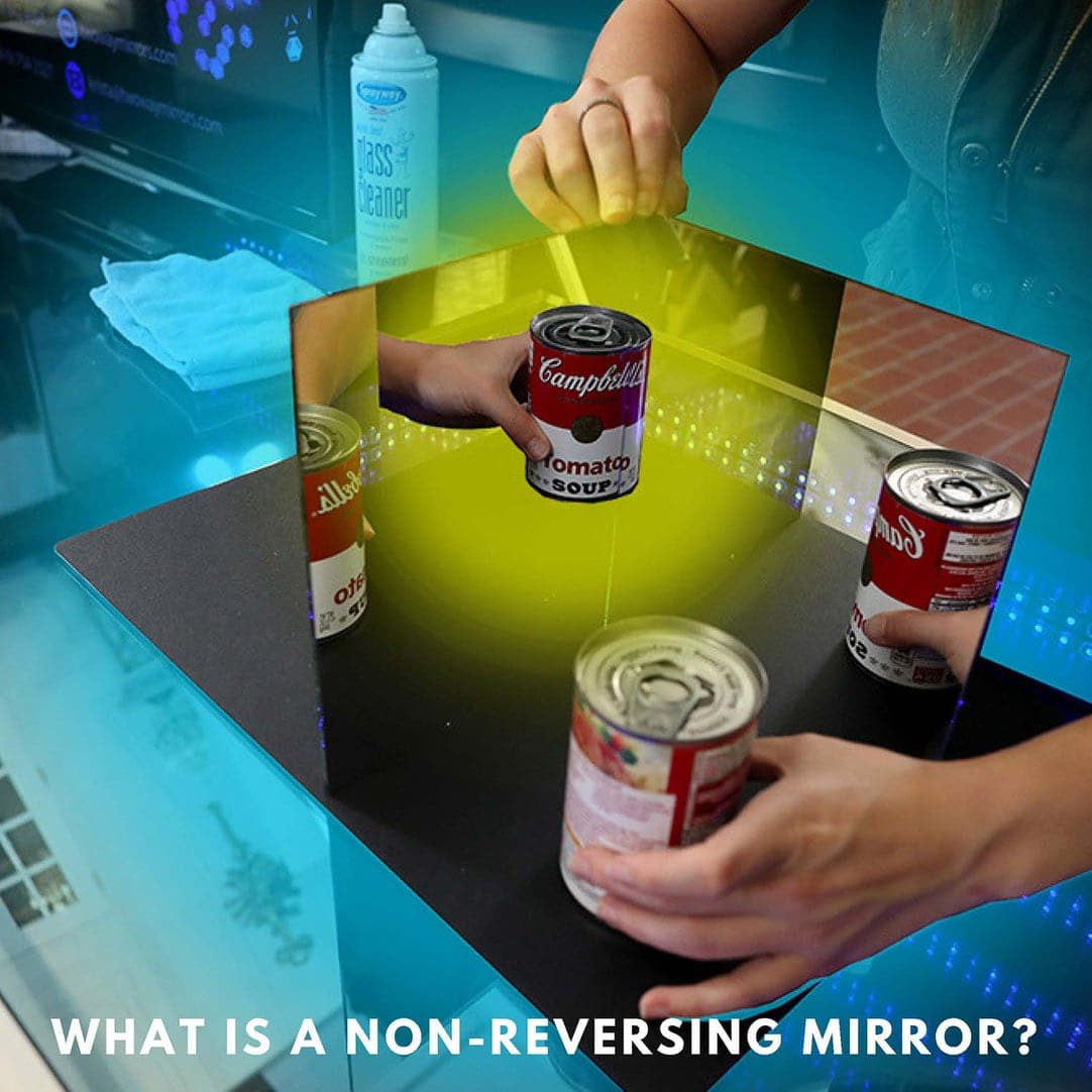 Non-Reversing Mirror: See Your True Self