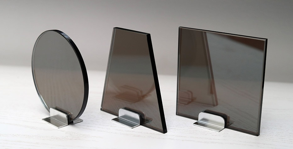 Two Way Mirror Shapes Glass Testing