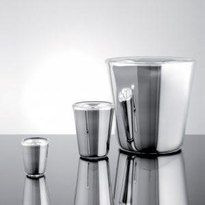 ice buckets silver