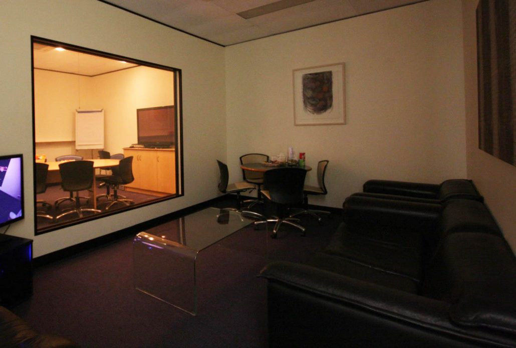 Two Way Mirror Observation Room