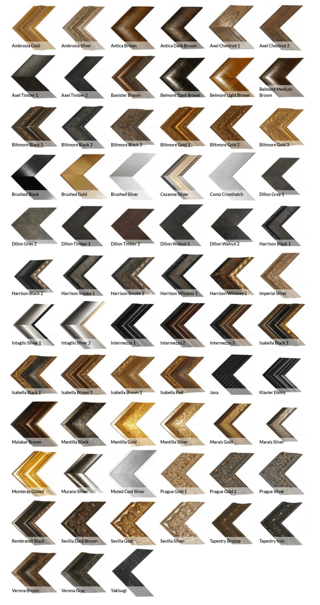 Frame styles in premium