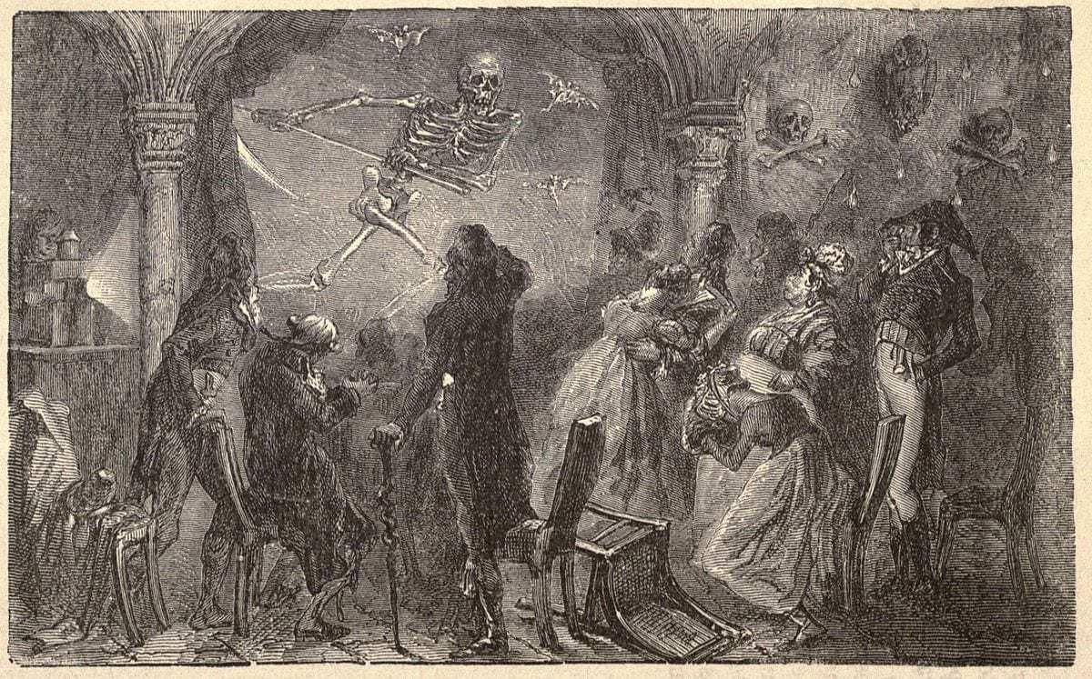 1867 interpretation of Robertsons Fantasmagorie