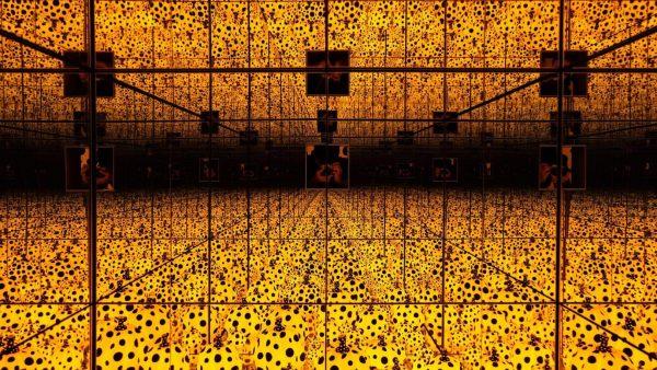 Pumpkin Infinity Mirror Room