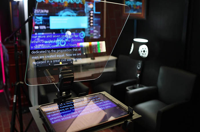 Teleprompter Mirror