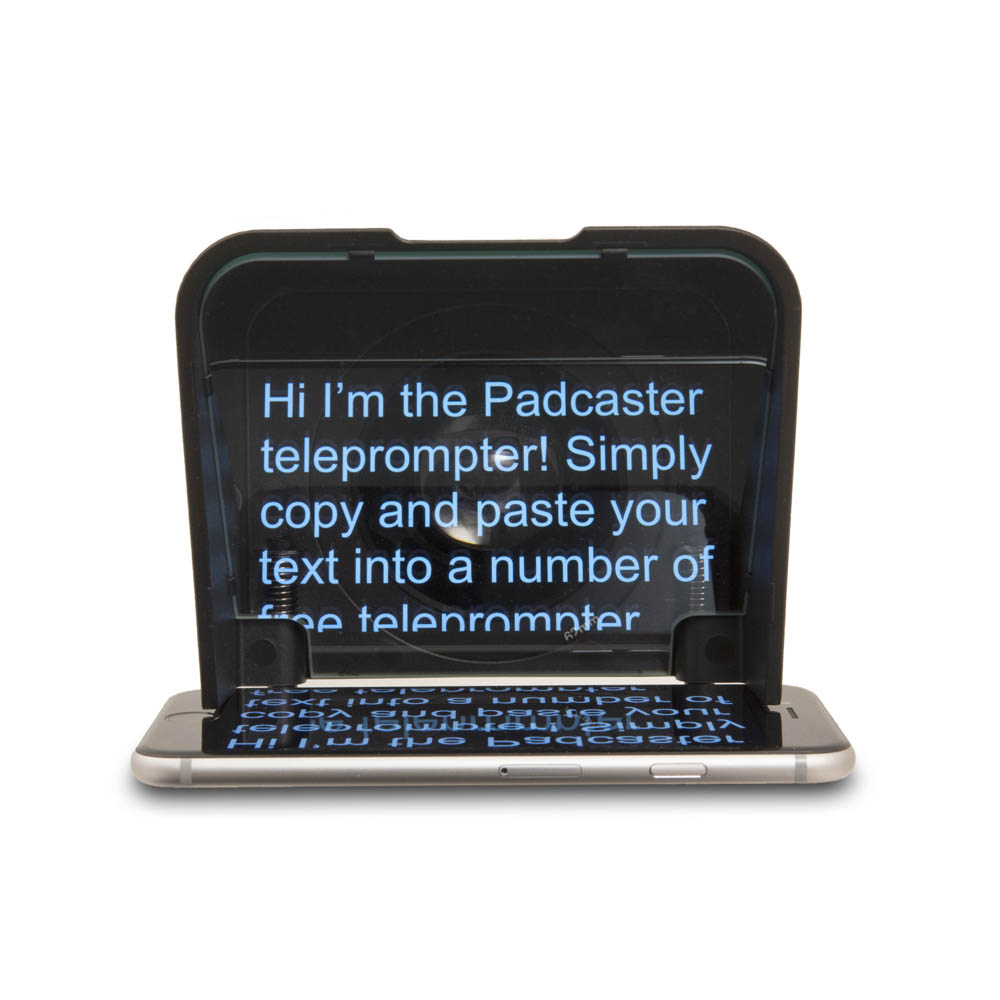 Portable Teleprompters Padcaster Parrot Teleprompter