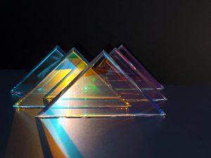 Dichroic Glass Display