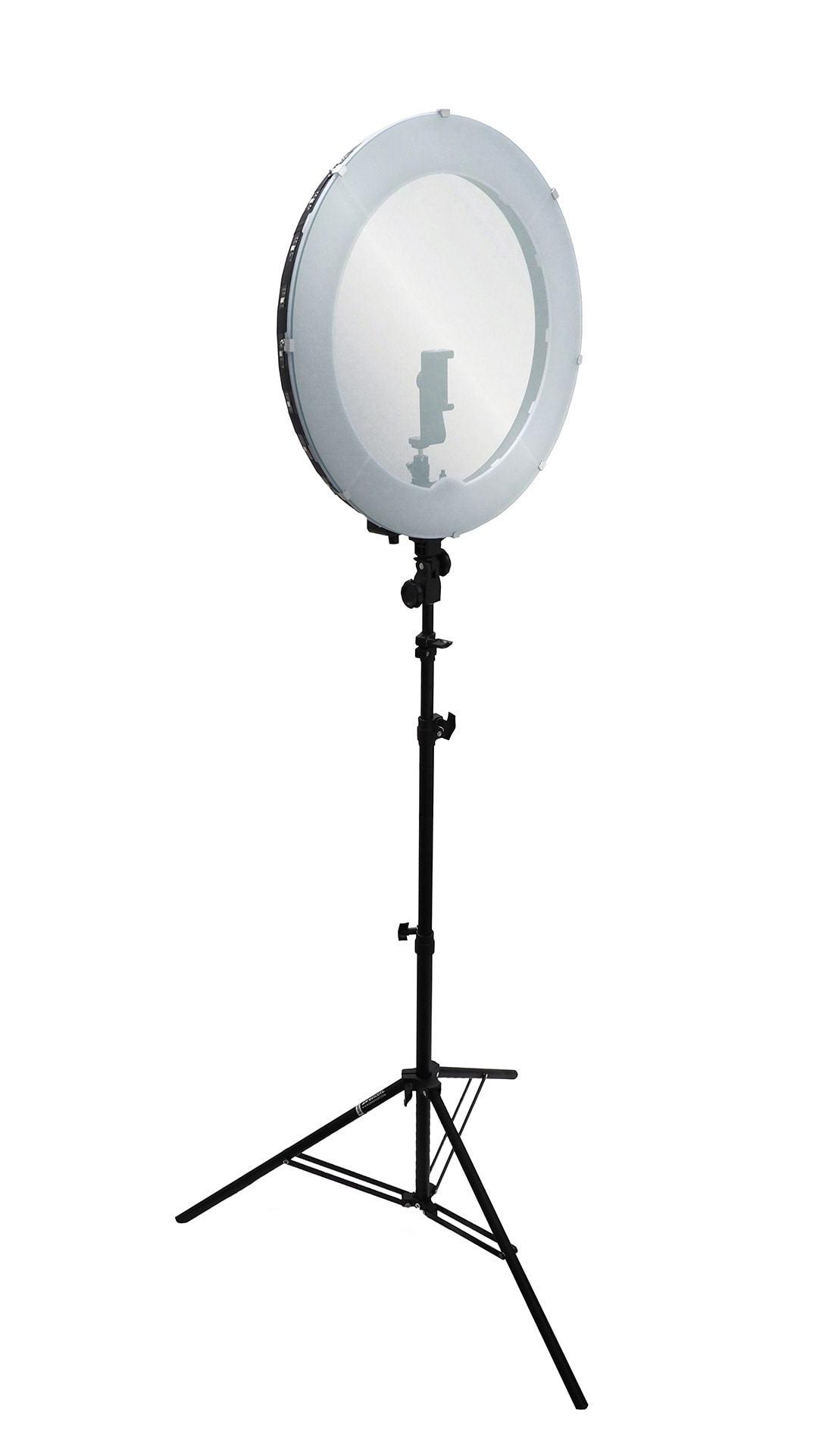 Halo Ring Light Mirror Record Makeup