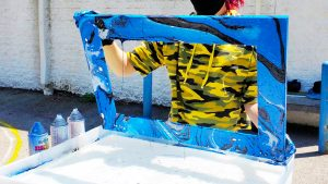 hydro dipping picture frame