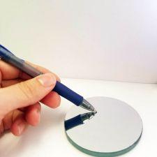 Round First Surface Mirror